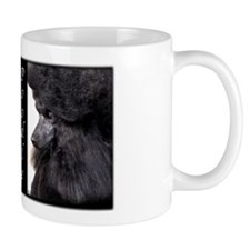 Poodle-Black Show Coat Mug