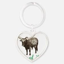 Cattle Of Kings Heart Keychain