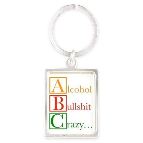 The REAL ABC's... Portrait Keychain