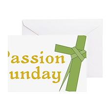 Passion Sunday Greeting Card