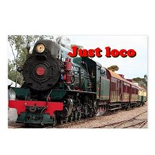 Just loco: Pichi Richi st Postcards (Package of 8)