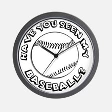 Have You Seen My Baseball? Wall Clock