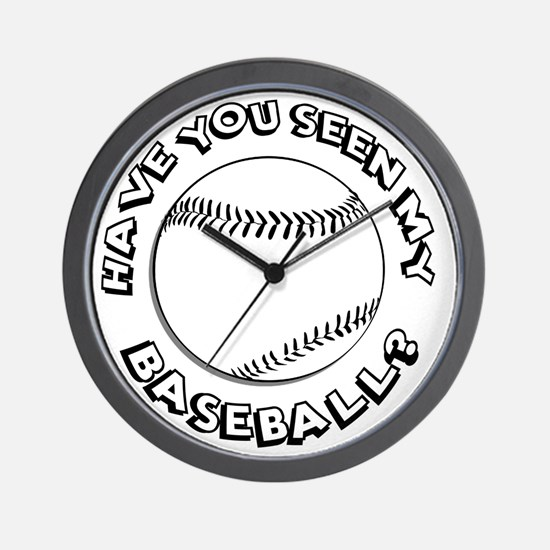 Have You Seen My Baseball? Wall Clock