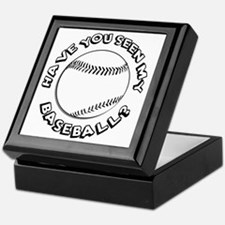 Have You Seen My Baseball? Keepsake Box
