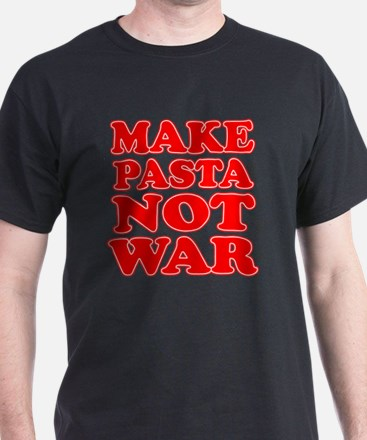 Make Pasta Not War Apron T-Shirt