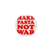 Make Pasta Not War Apron Mini Button