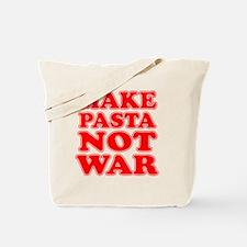 Make Pasta Not War Apron Tote Bag