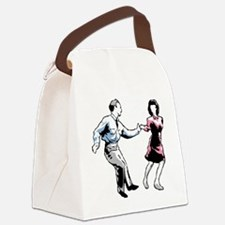 Shag Dancers Canvas Lunch Bag