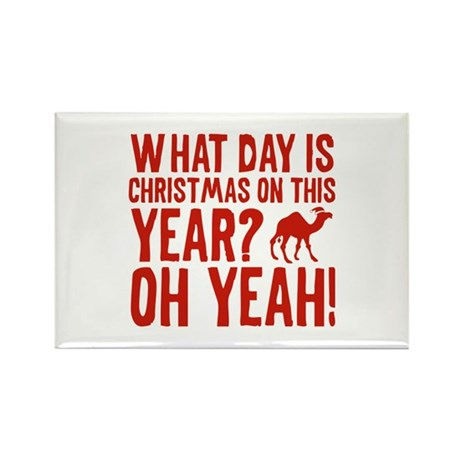 Guess What Day Is Christmas On This Year? Rectangl