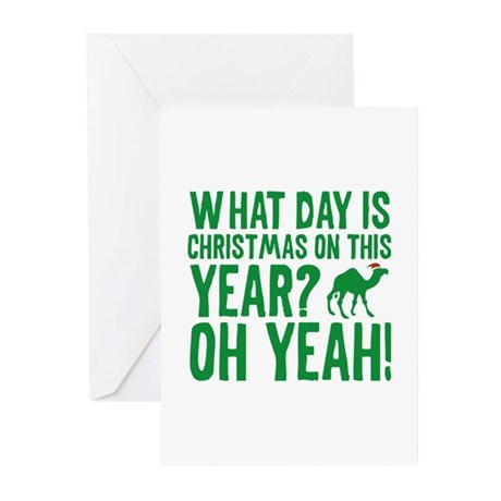 Guess What Day Is Christmas On This Year? Greeting