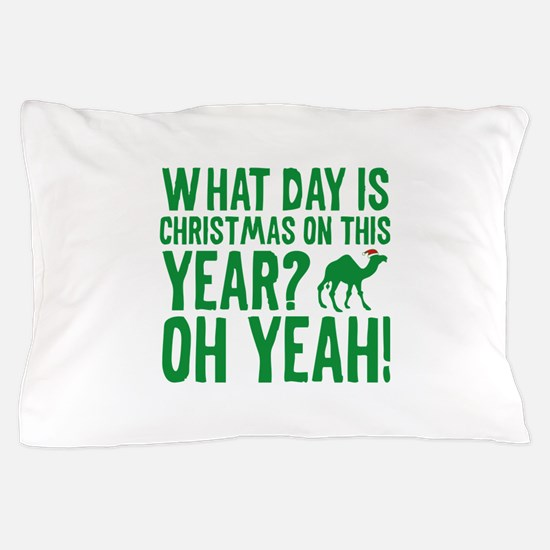 Guess What Day Is Christmas On This Year? Pillow C