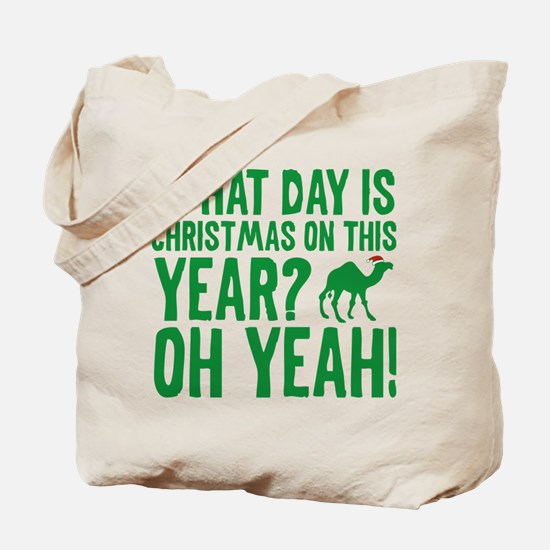 Guess What Day Is Christmas On This Year? Tote Bag