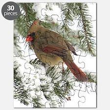 Female cardinal Puzzle