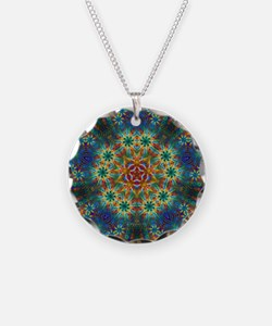 Fractal Spring Swatch Kaleid Necklace