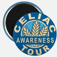 Celiac Awareness Tour Logo Magnet
