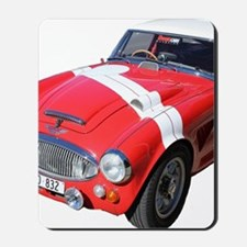 Red car Note 11 case Mousepad