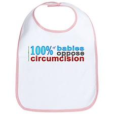 """100% of babies"" Bib"