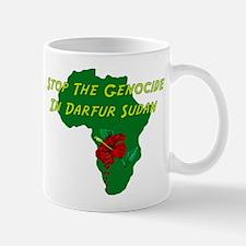 Stop Darfur Genocide Mug