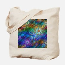 Fractal Spring Swatch Tote Bag