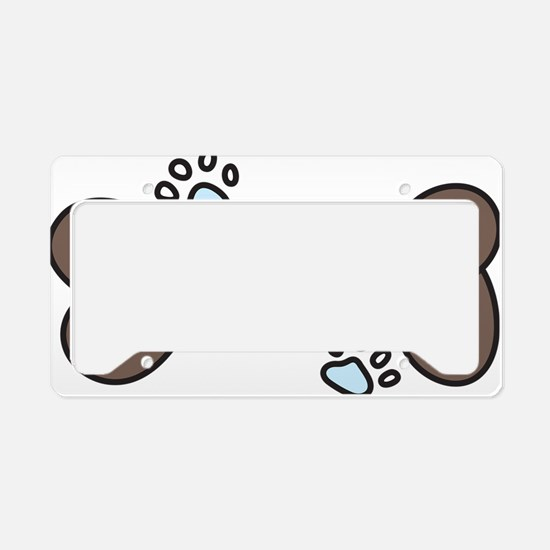 Foster Mom License Plate Holder