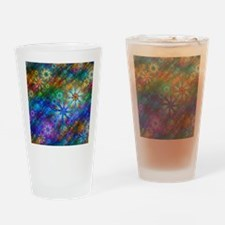 Fractal Spring Swatch Drinking Glass