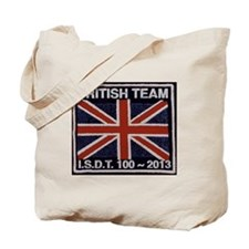 ISDT 100th Anniversary 2013 team badge Tote Bag