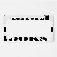 bannedbooks License Plate Holder