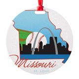 St louis missouri Ornaments