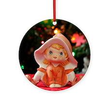 Christmas Elf III Round Ornament