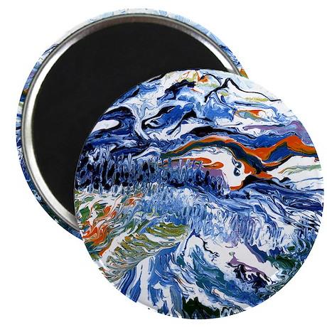 Abstract Mt Rainier Magnet