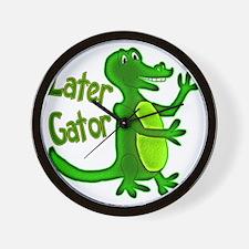 Later Gator Wall Clock