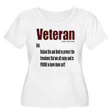 Veteran Definition T-Shirt