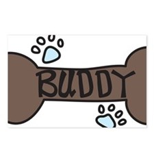 Buddy Postcards (Package of 8)