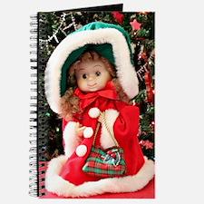 Christmas Caroling Doll I Journal