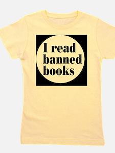 bannedbooksbutton Girl's Tee