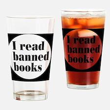 bannedbooksbutton Drinking Glass