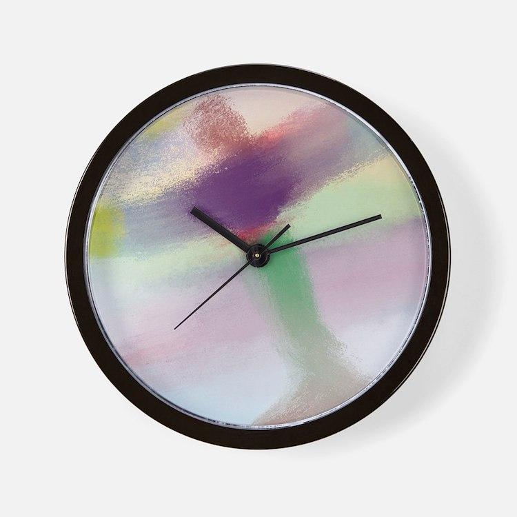 Healing Guardian Angel of the Light Wall Clock