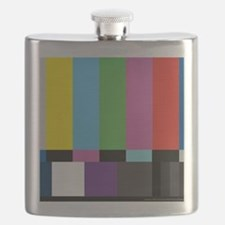 SMPTE HD Color Bars Flask