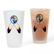 NATIVE PRIDE Drinking Glass