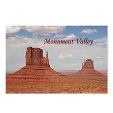 Monument Valley (caption) Postcards (Package of 8)