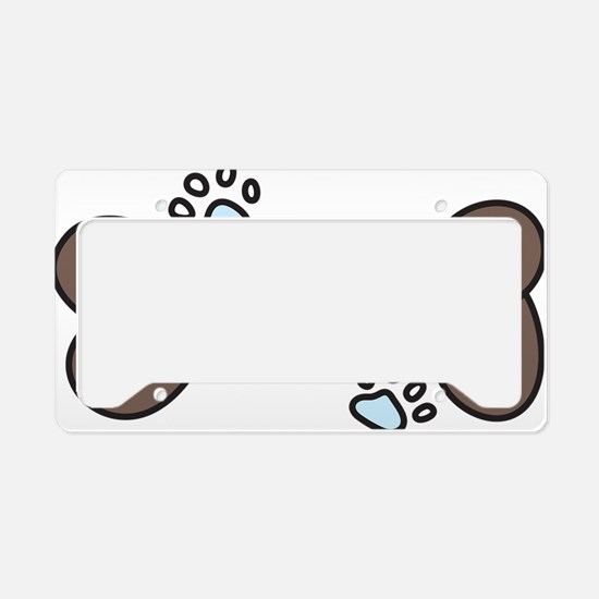 Dog Lover License Plate Holder