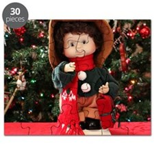 Christmas Caroling Doll II Puzzle