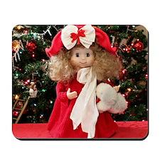 Christmas Caroling Doll III Mousepad