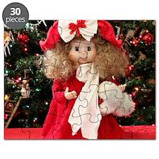 Christmas Caroling Doll III Puzzle