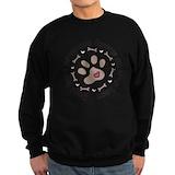 Dog rescue Sweatshirt (dark)