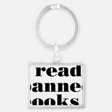 bannedbooksrectangle Landscape Keychain