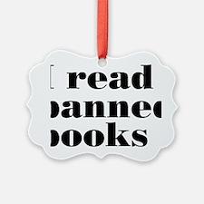 bannedbooksrectangle Ornament