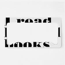 bannedbooksrectangle License Plate Holder