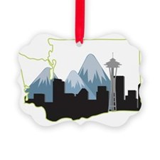 Washington State Ornament