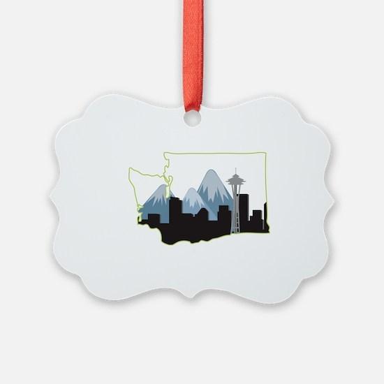 Washington State Ornament
